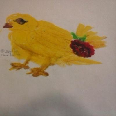 Raspberry Butt Bird
