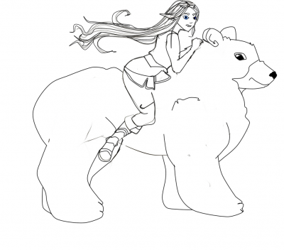 Riding On a Honeyvore
