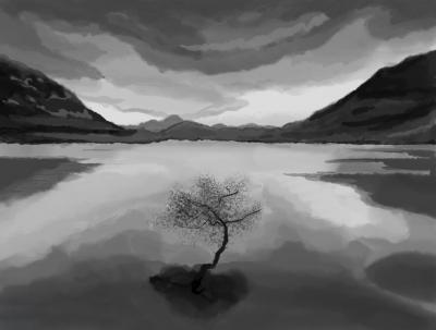 Ireland Landscape WIP