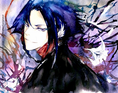 Ayasegawa Yumichika Watercolor