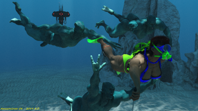 Underwater Sensuality 14A