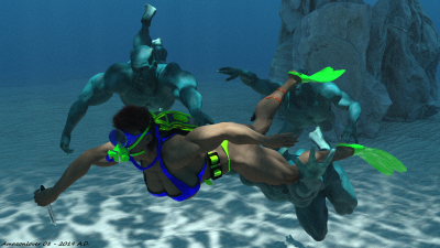 Underwater Sensuality 14B