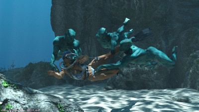 Underwater Sensuality 14D