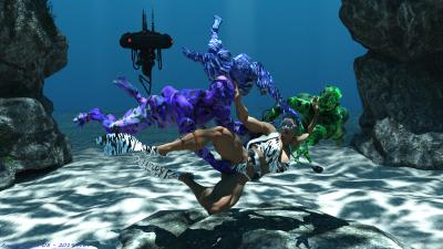 Underwater Sensuality 14K