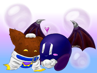 Cute Meta Knight x Magolor