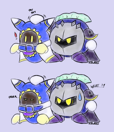 Magolor... purrs?
