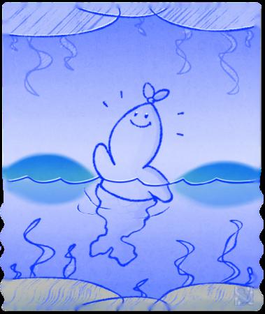 Huevember 18: Sea-Sky