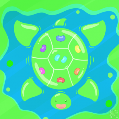Huevember 26: Jellybean Turtle