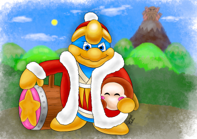 S. Santa: King Dedede and Dee