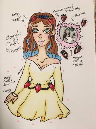 Angel Cake Princess