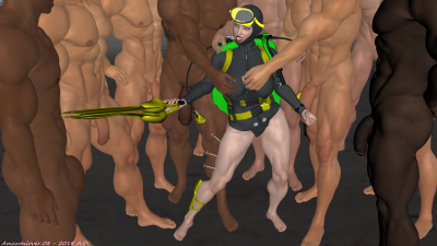 Frogwoman Danielles capture