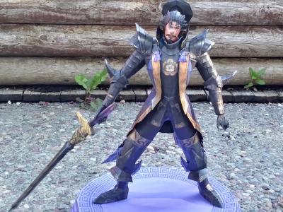 Nobunaga Oda papercraft