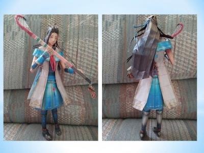 Hayakawa papercraft