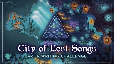 [Art and Writing Challenge] The City of Lost Songs