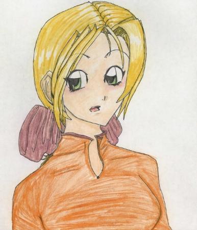 blonde anime
