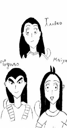 The three saiyans
