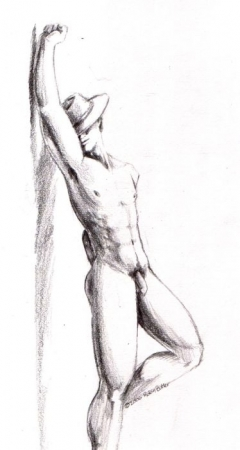 Fedora Man - Body Study