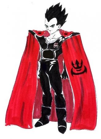 Goth Vegeta - Saiyan Prince