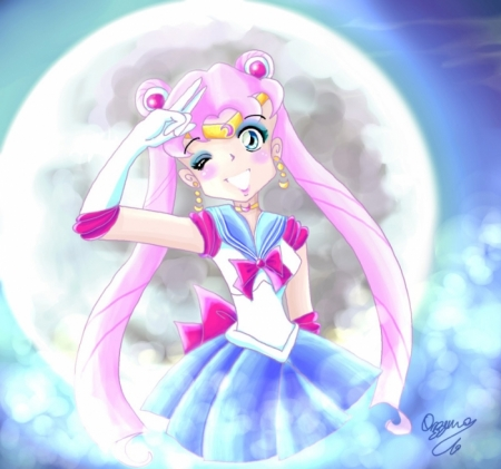 Pink Sailor Moon