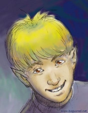 Jaden the quirky elf