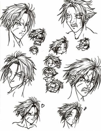 Zorny faces