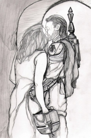 Boba and HIs Lady...
