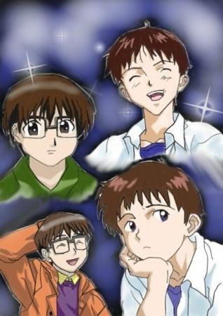 Shinji versus Keitaro