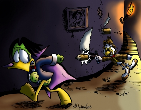 Count Duckula VS Von Goosewing