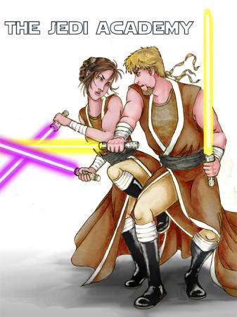 Jedi Sparring Match