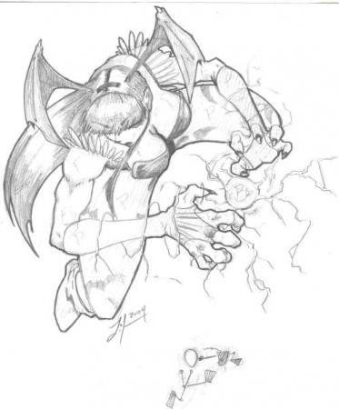 Darkstalker Morrigan