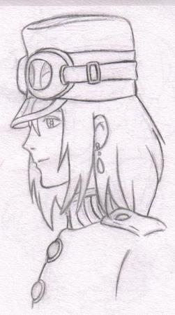 Howl Profile Sketch
