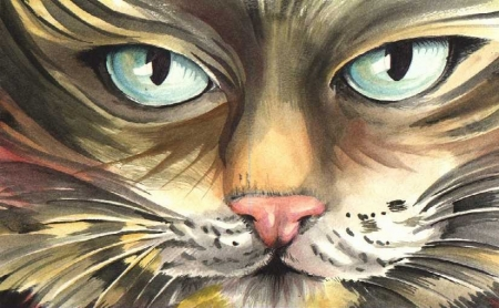 Cat - Watercolour