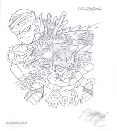 Piccolo  Kami and Shenlong