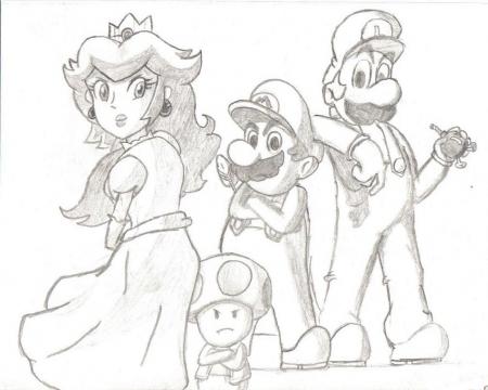 The Super Mario Gang