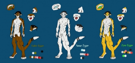 Tygre Breeds Reference