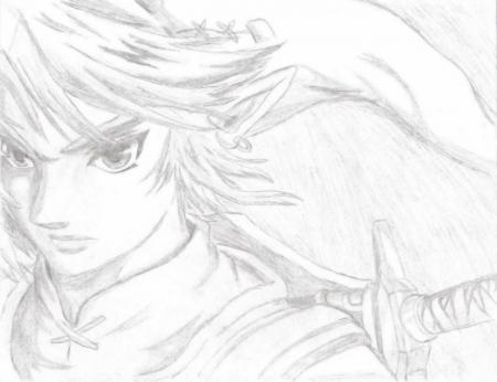 Link Looking Cool