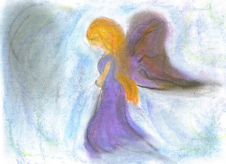 Angel thingee person....