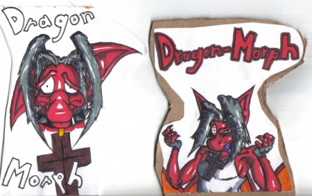 Dragon-morph's Conbadges #1