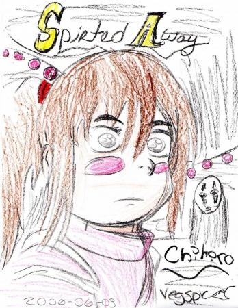 Chihiro of Spirited Away