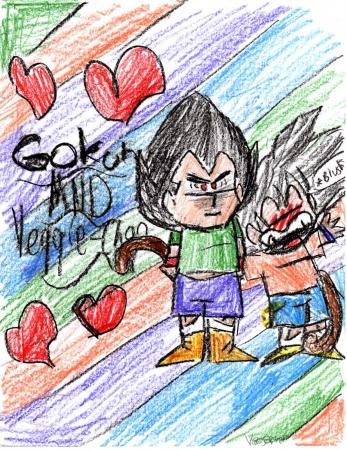 Gokuh and Veggie Chibis!