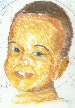 Self portrait as a baby!