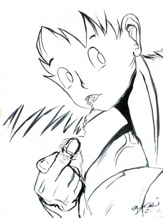 Goku and Vegita-san  part 1