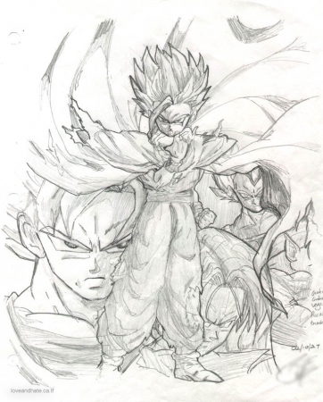 Gohan and the Gang