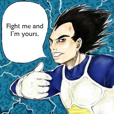 Vegeta says: