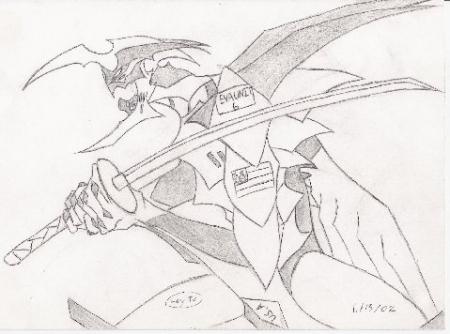 Evangelion Swordsman