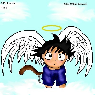 Chibi Angel Goku