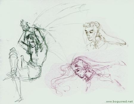 Link sketches