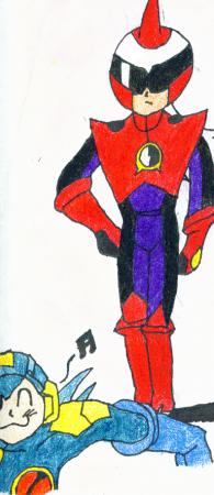 Megaman and Protoman