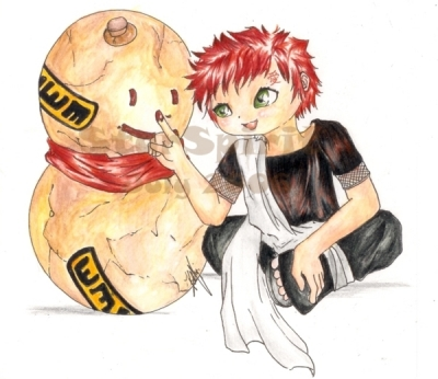 Gaara's Childhood (a request)