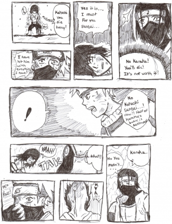 Ninja comic
